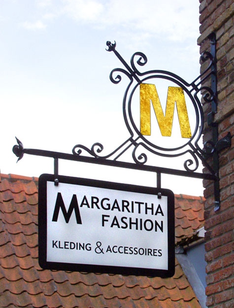 uithangbord margaritha fashion terschelling